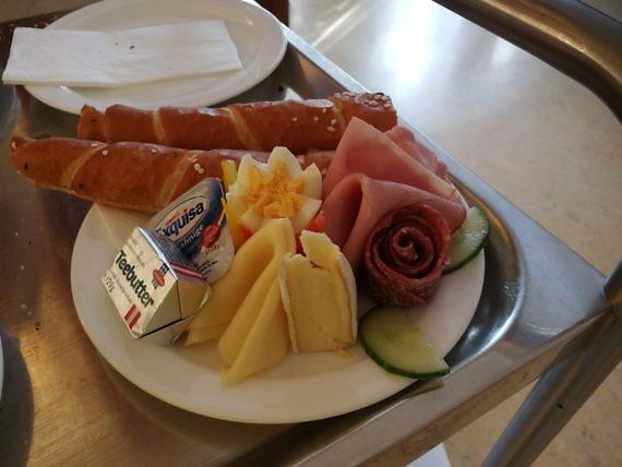 Frühstück wie daham ...